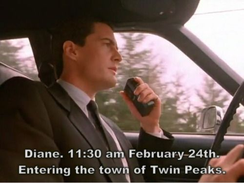 Twin Peaks: Agent Cooper, Special Agent, Happy Anniversaries, Twin Peaks, Book Movies Tv, Cooper Arrival, Coops Twin, Dale Cooper, Agent Dale