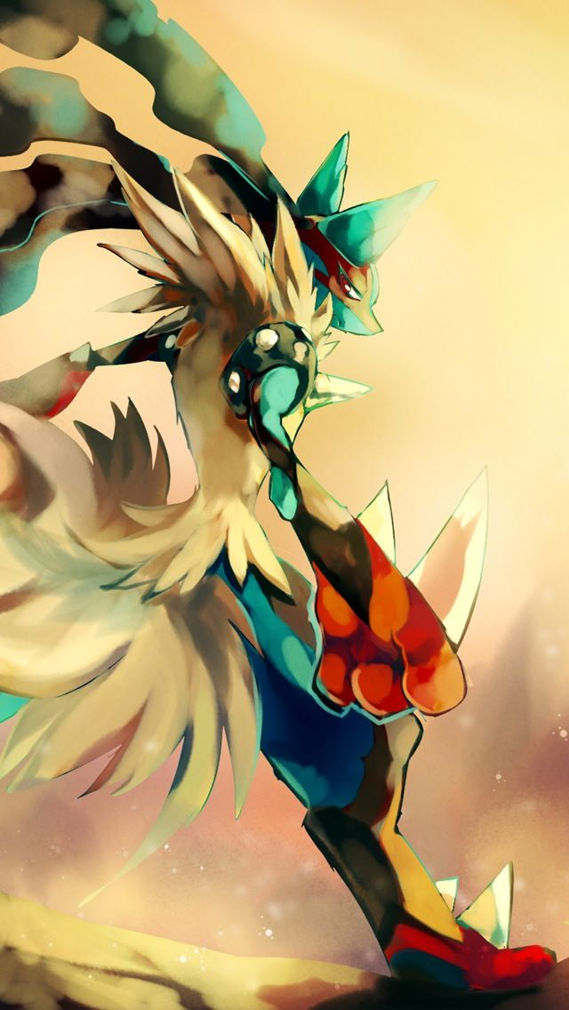 Mega Lucario - #pokemon iPhone wallpaper @mobile9