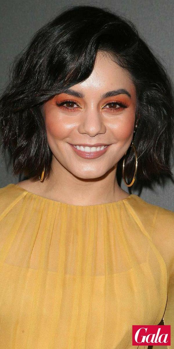 Vanessa Hudgens weiß, dass die Make-up-Trends 2018 bunt werden: Sie setzt beim …