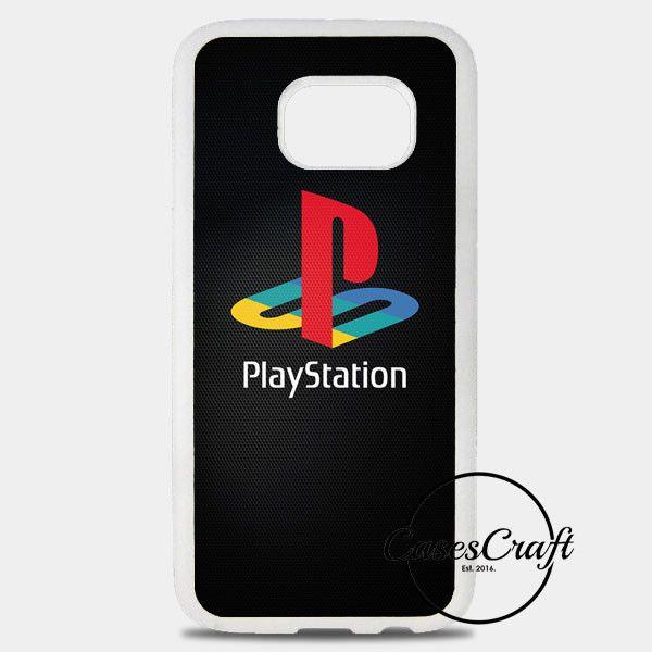 Sony Playstation Logo Dark Samsung Galaxy S8 Plus Case | casescraft