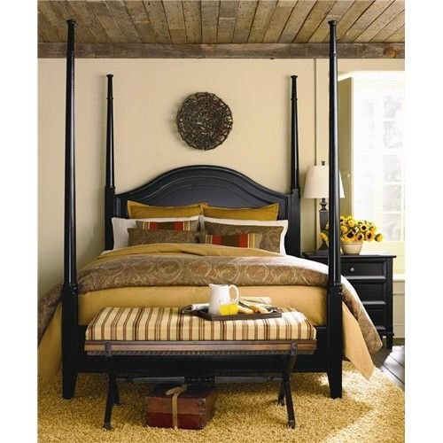 Chatham Complete Queen Poster Bed By Bassett Dunk Bright Furniture Poster Bed Bedroom