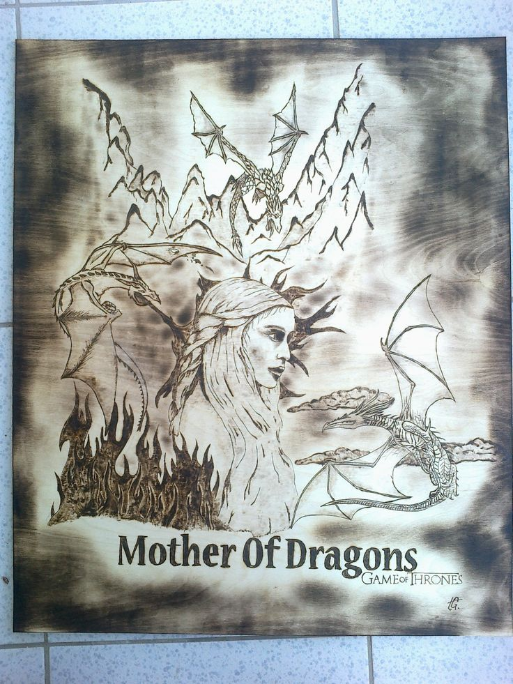 Game Of Thrones PyroArt