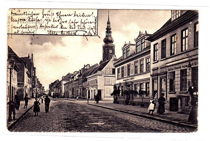 Greifswald Langestrasse AK 1903   eBay