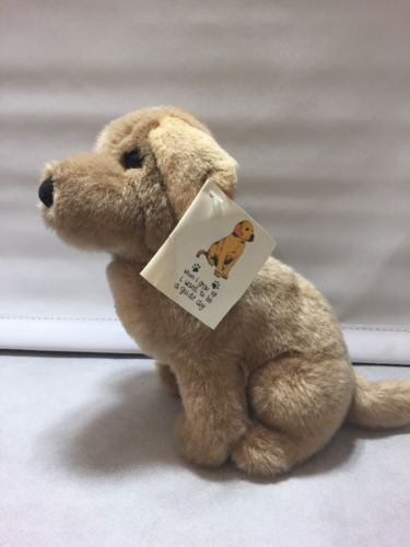 Guide-Dogs-Golden-Retriever-Labrador-Soft-Toy-Dog-9-034-1989-tagged-BNWIthT