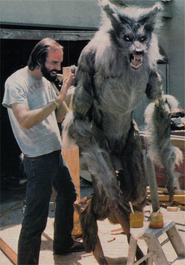 "One of Rob Bottin's werewolves for Joe Dante's ""The Howling"" (1981)"