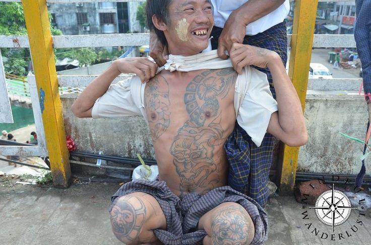 Burmese tattoos
