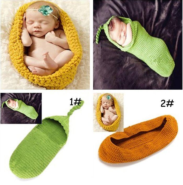 Вязание для новорожденных детские спальные мешки ручной вязки новорожденный ребенок фотография опоры кокон аксессуары для маленьких детей 1 шт. PC66090
