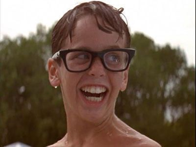 The Sandlot--how to get a hot girl to kiss you? Just almost drown. Best plan ever.: Great Movie, Best Movie, Sandlot, Giggl, Wendy Peffercorn, Funny, Squint, Favorite Movie, Kid