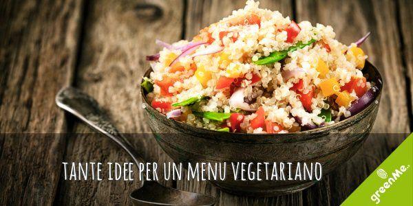 Ricette vegetariane: 15 piatti facili dall'antipasto al dolce