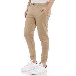NEW Glue Store Turnt Up Chino Pant in Stone from Glue Store.