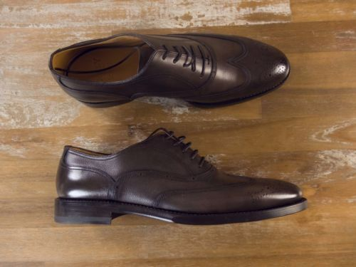 auth BALLY SCRIBE brown leather shoes - Size 7.5 US / 6.5 UK / 40.5 EU