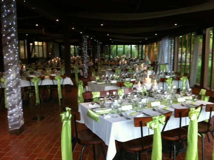 All set for a spring wedding at the Brown Brothers Epicurean Centre.