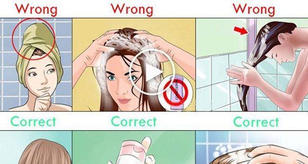 Egész életedben rosszul mostál hajat! Ezért: – Azt beszélik