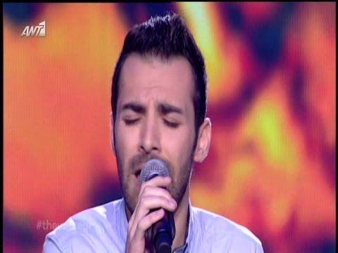 The Voice Of Greece 2 - Κωστας Αγερης [Την Πατριδα εχασα]..22/2/2015
