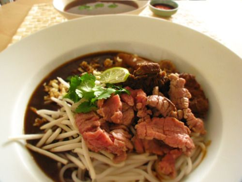 Hainan Beef Noodles 海南牛肉粉 - use to be one of my fav. I am now a vegetarian
