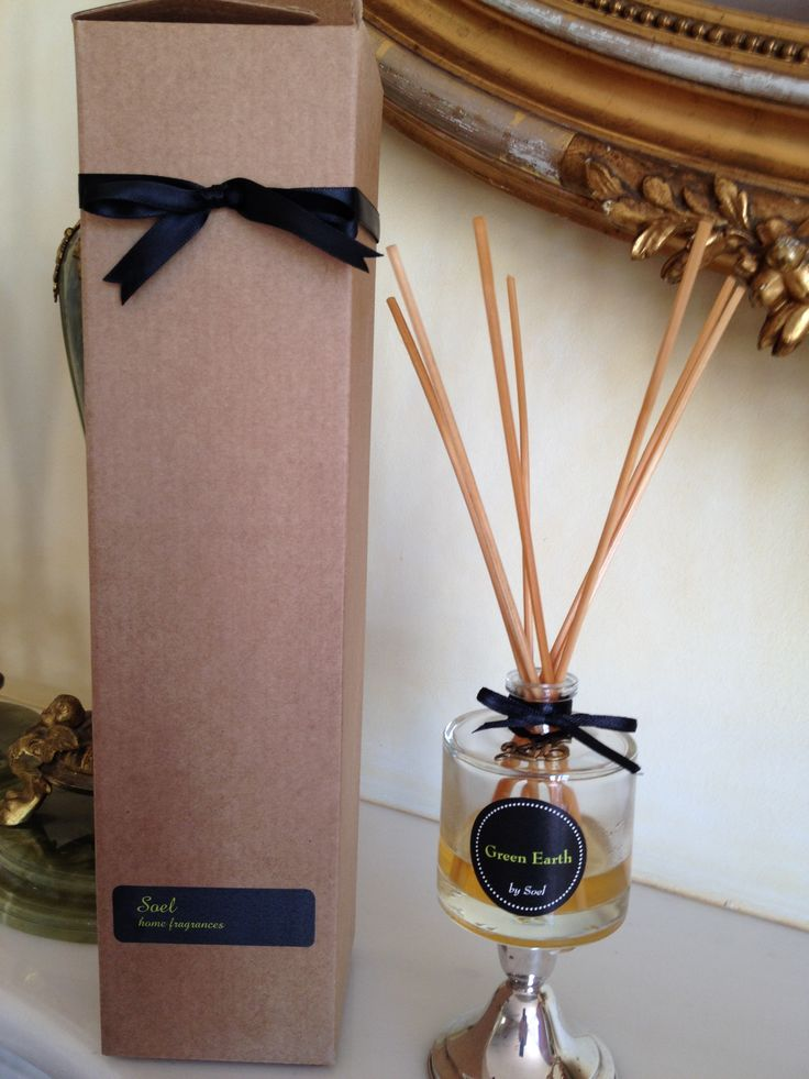 Green earth fragrance rattan reed  diffuser