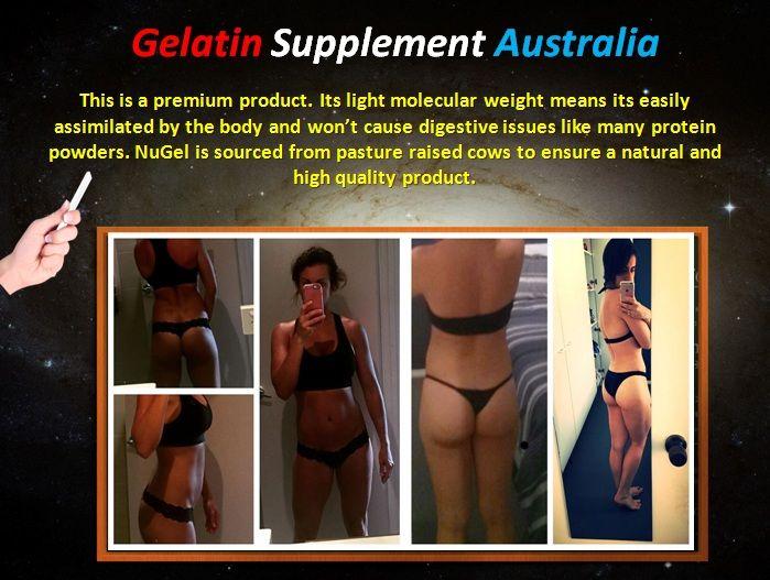 Gelatin Supplement Australia - Nutrition