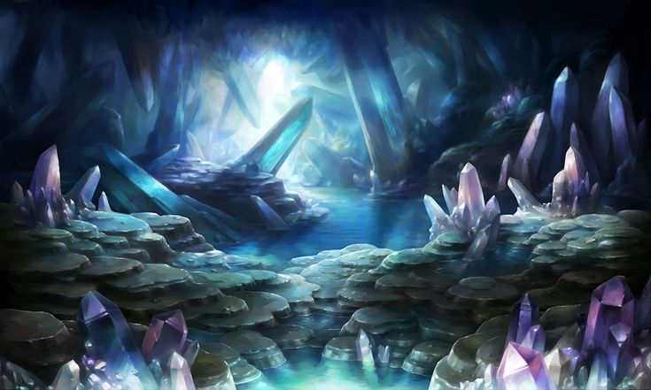Quartz Cave - Pictures & Characters Art - Dragons Crown