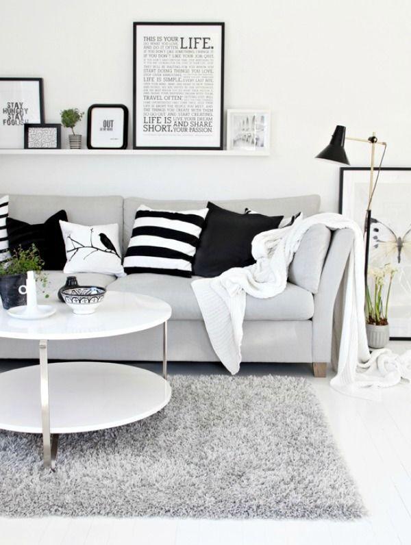 Patronen in zwart wit | Éénig Wonen