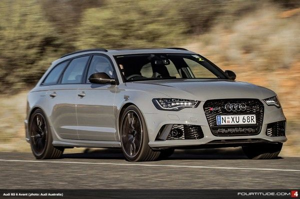 Audi RS 6 Avant, photo: Audi Australia I can dig a superwagon, but that looks like it needs a paint job.