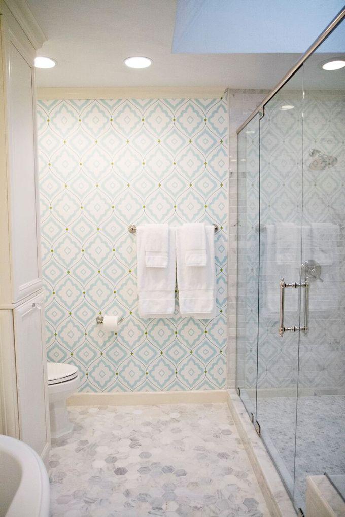 House of Turquoise: EA Interior Design; Thibault wallpaper