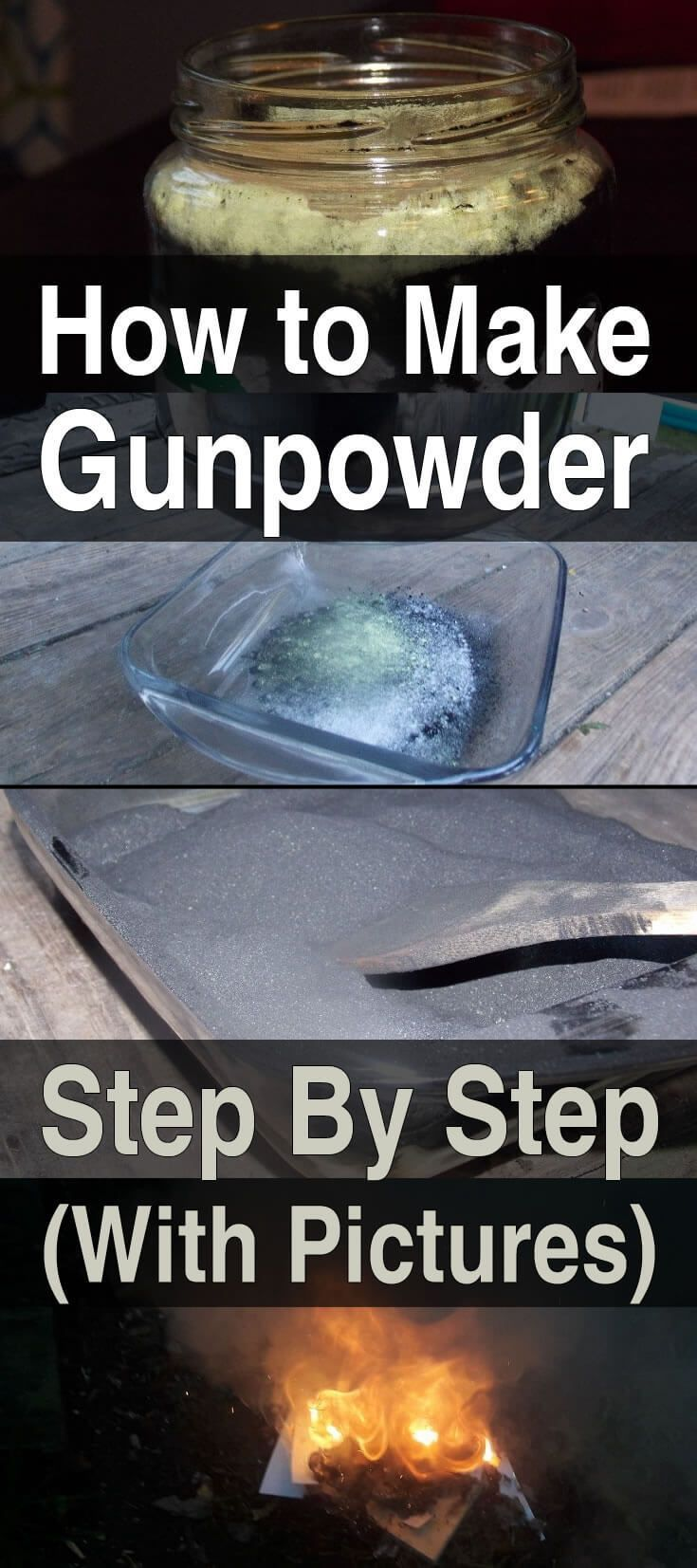 How to Make Gunpowder Step by Step (With Pics) | DIY Gunpowder | Frugal Gunpowder | Survival