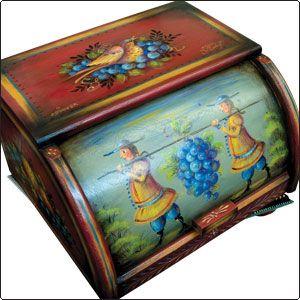 Harvest Bread Box - JP3192