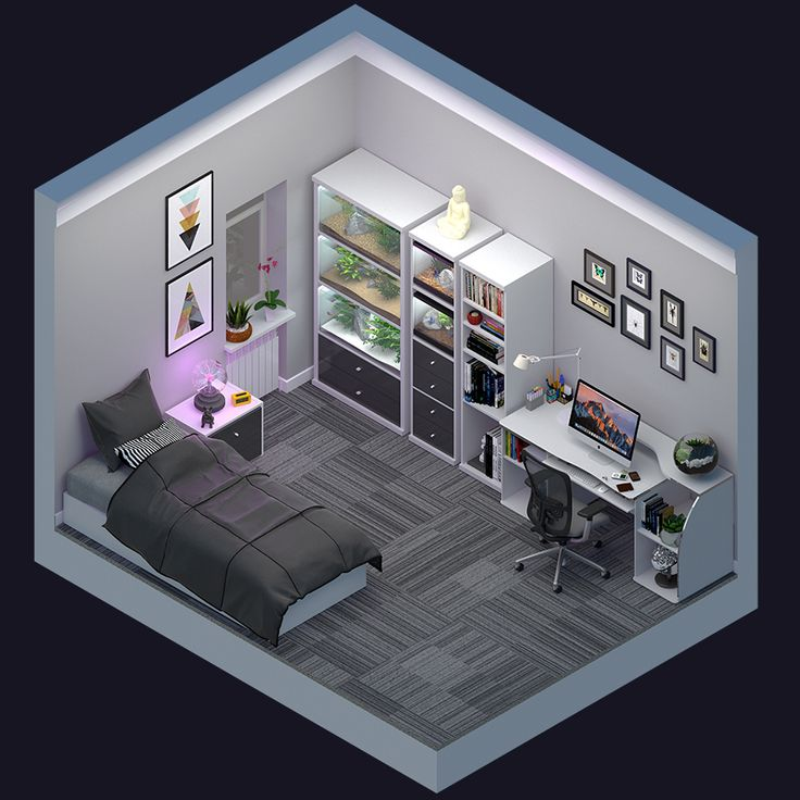 Loft Game Room Ideas: Bedroom Setup, Boy Bedroom Design
