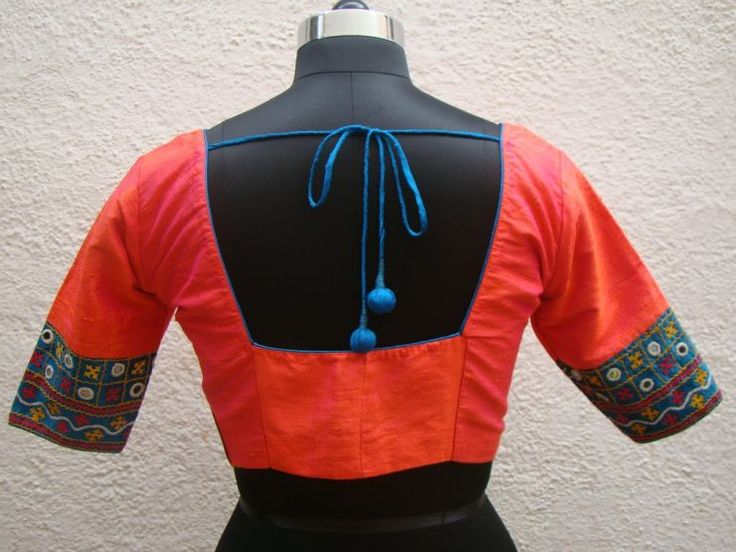 double-shade-orange-kutch-work-blouses-from-house-of-taamara.jpg (740×555)