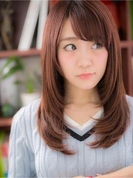 簡単アレンジできちんと感あるストレートヘアスタイル☆ 真似したい髪型・カット♬
