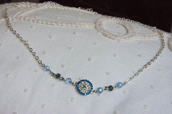 Jewellery Necklace Crystal Nazar