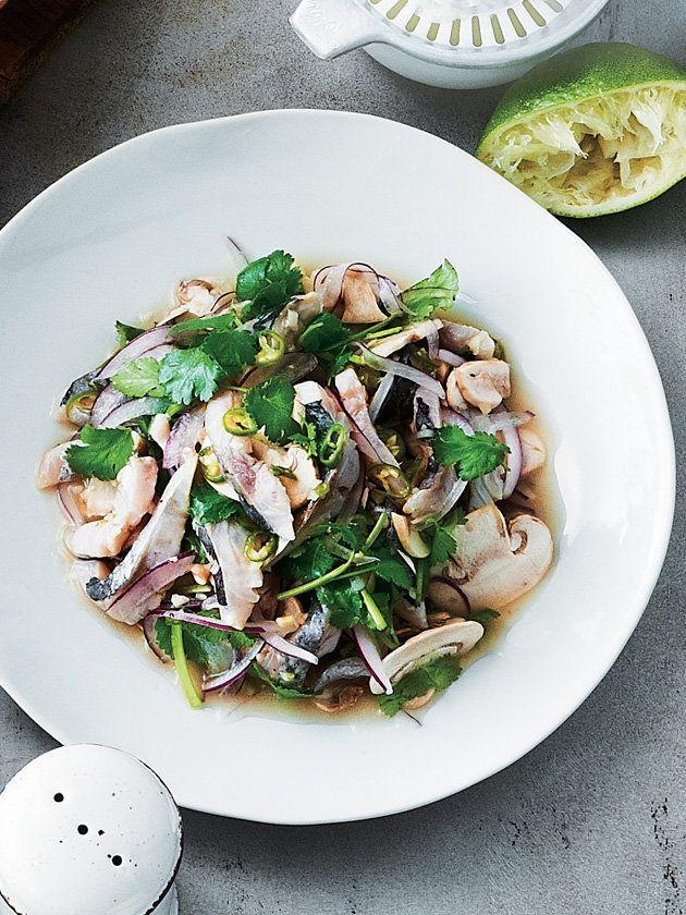 青唐辛子の爽快な辛みと香菜の香りでスッキリ! 『ELLE a table』はおしゃれで簡単なレシピが満載!