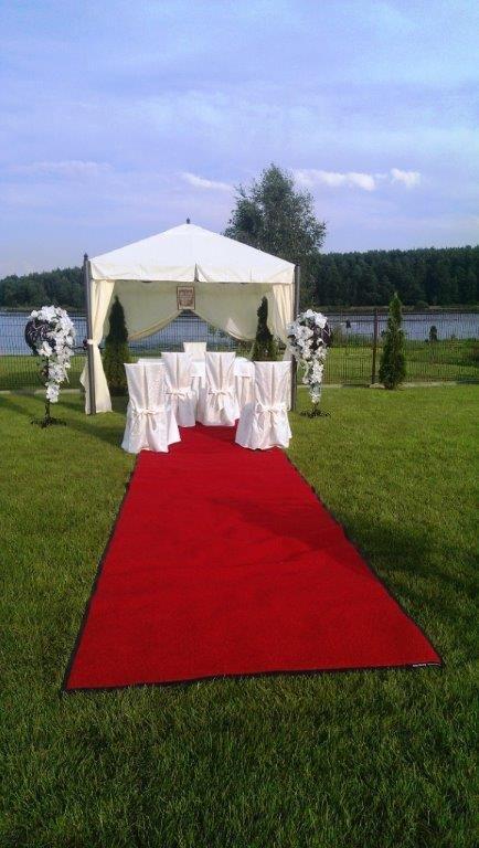 Ślub cywilny wypożyczenie altany aranżacja dekoracje www.fabrykaslubu.pl
