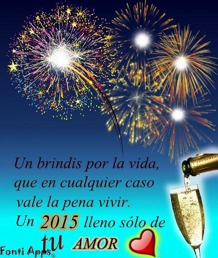 Frases a o nuevo 2015 bonne ann e 2015 happy new year - Felicitaciones para ano nuevo ...