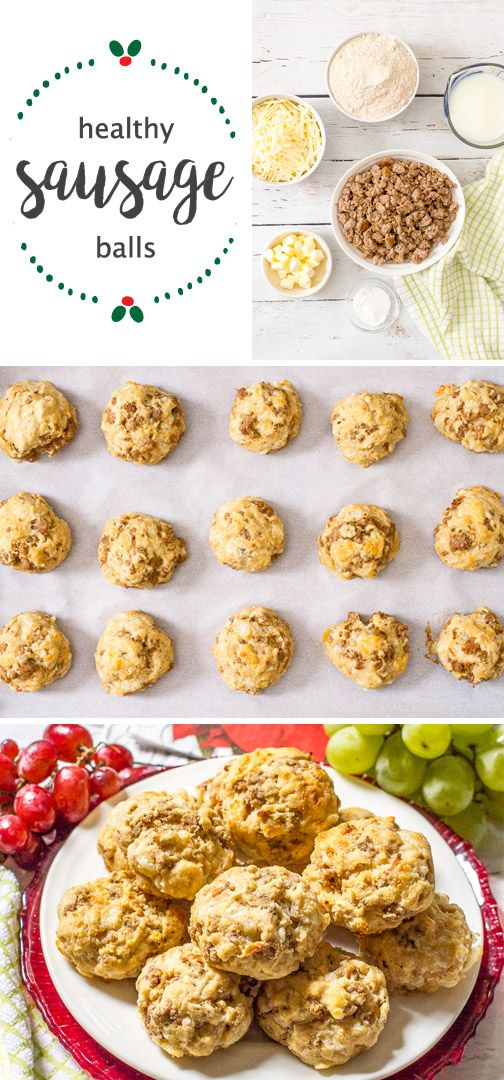 You've wrapped all the presents and decked the halls with holiday cheer, now all that's left is to find the perfect dish to serve at all of your holiday events. That's where this recipe for Healthy Sausage Balls comes in handy. All in all this festive baked good is the perfect easy yet delicious homemade treat that your family is sure to enjoy! Simply store in Rubbermaid TakeAlongs® and bring them to your next holiday party.