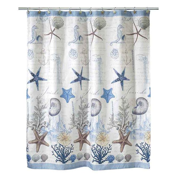 Ocean Themed Fabric Shower Curtain   Shower Curtains Will Create The Most  Economical Method To Instantly Provide You With A N