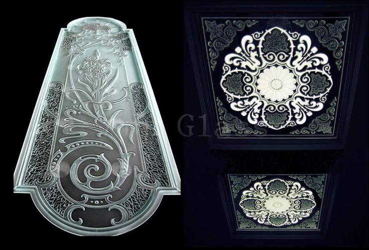 Витражи фацетные, витражи стеклянные с фацетной гравировкой, витражи из фацетированного стекла - создаем витражи удивительной красоты