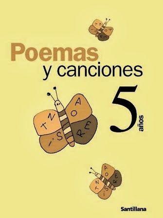 """""""Poemas y canciones"""", de la Editorial Santillana, para Educación Infantil de 4 años, es un recurso complementario al material didáctico de la editorial para este nivel como actividad de lectoescritura e introducción a la literatura."""