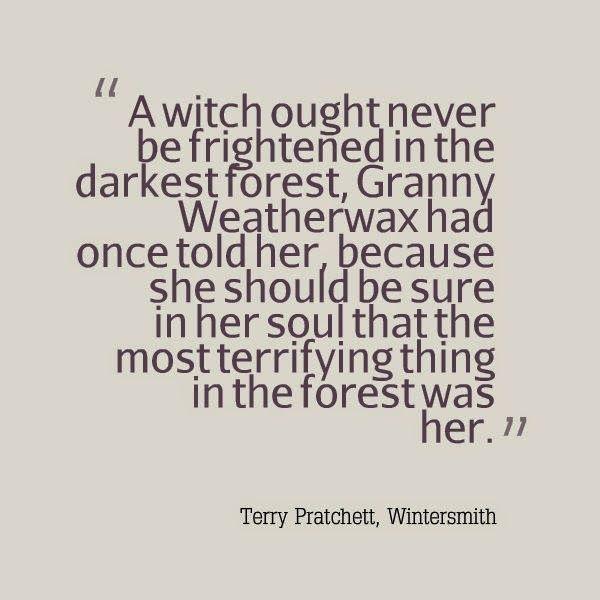Granny Weatherwax - Tiffany Aching - Wintersmith - Terry Pratchett
