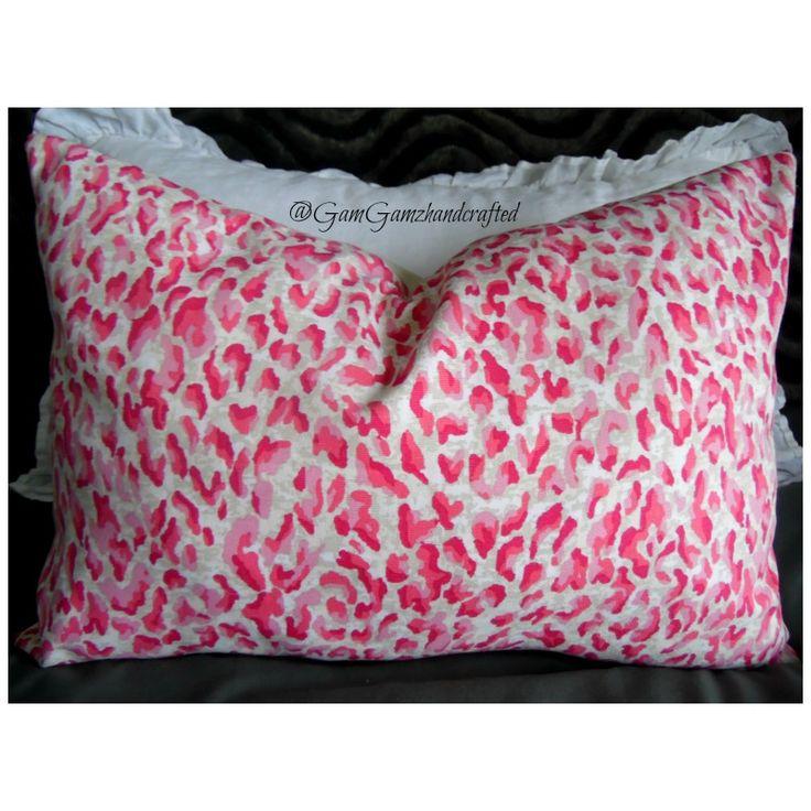 Leopard Print.Pinks.Cream.White. Nursery Decor.Valentines Decor.Bedroom Decor.Living Room Etsy Shop