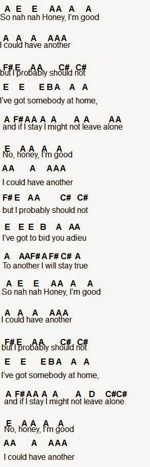 Flute Sheet Music: Honey, I'm Good