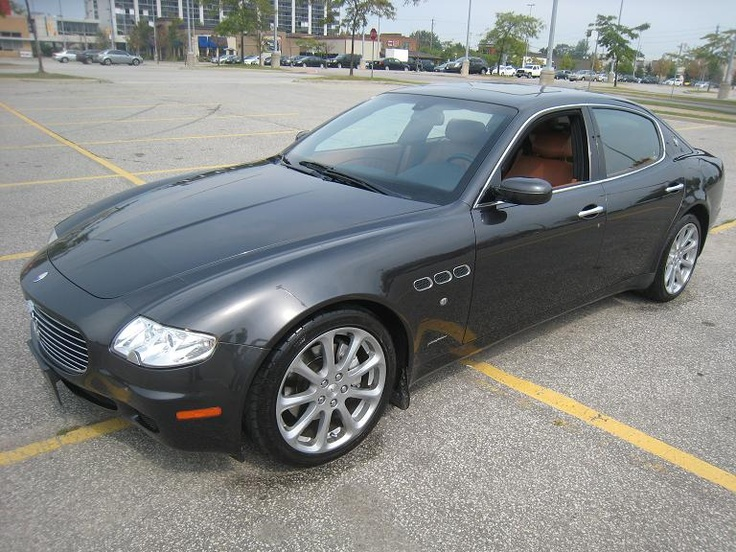 2007 Maserati Quattroporte Fully Appointed Toronto On Maserati Pinterest 2007 Maserati