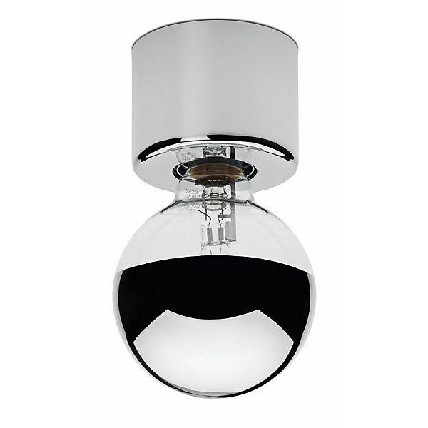 Ein völlig auf die Funktion als Fassung reduzierter Sockel, der zusammen mit der Globe Glühlampe als Wand- und als... - Lampensockel Eintopf