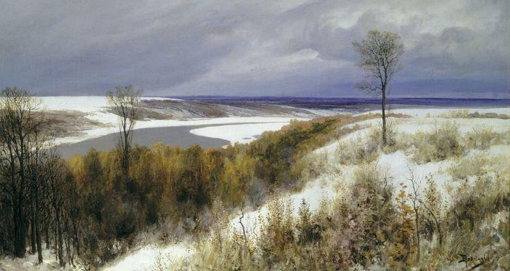 Ранний снег — Поленов Василий Дмитриевич