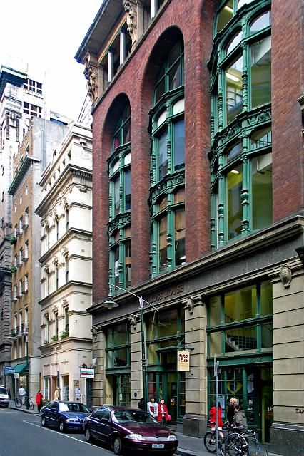 Building Flinders Lane Melbourne Victoria Australia (City)