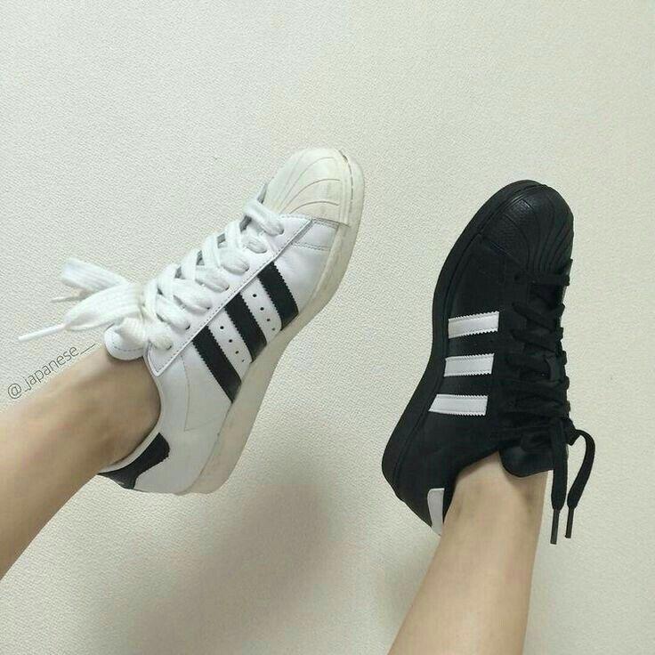 adidas bianco e nero