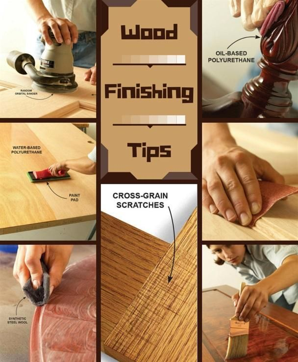 Wood Finishing Tips: Get a silky smooth finish on your next project. http://www.familyhandyman.com/woodworking/staining-wood/wood-finishing-tips
