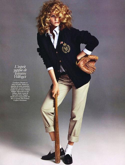 curls, baseball, cute outfit...l-o-v-e.