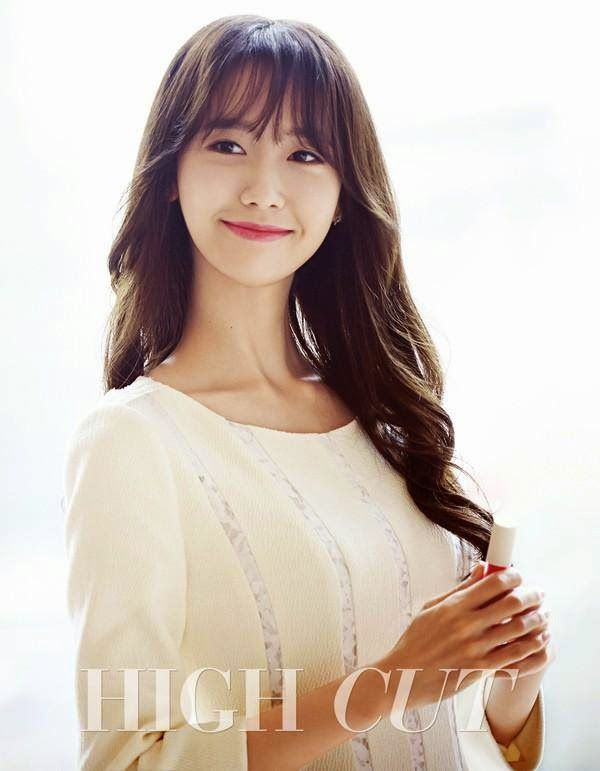 하이컷 - 패션, 뷰티, 대중문화 커뮤니티와 다채로운 이벤트 <HIGH CUT> vol143 윤아 YoonA