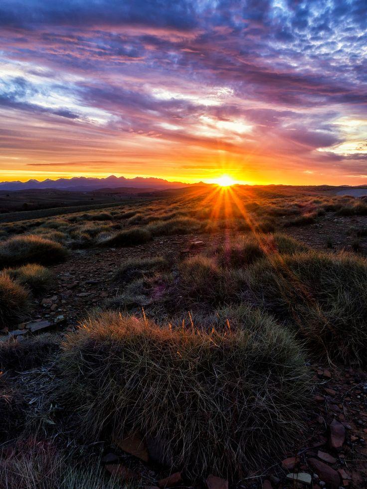 Sunrise at Wilpena Pound_ South Australia